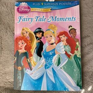 Disney Princess Poster-A-Page: Fairy Tale Moments